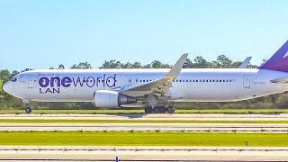 (4K) Plane Spotting at Orlando International Airport