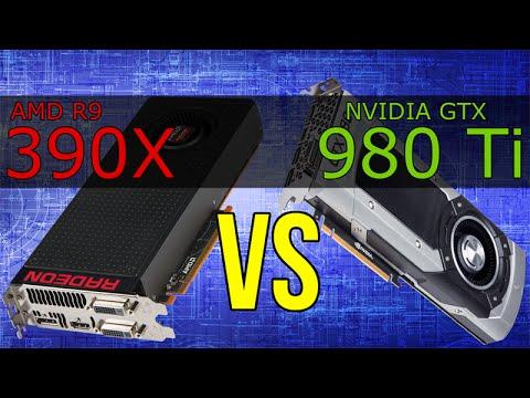 AMD R9 390X vs NVIDIA GTX 980 Ti