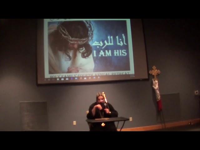 Anba Karas Talk Family Retreat 2018  نيافة الأنبا كاراس، أسقف مريلاند وبنسيلفانيا وتوابعهم