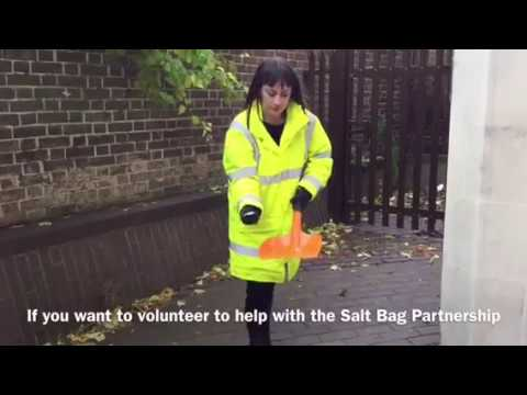 Salt Bag Partnership (including a 'How To' guide on salt spreading)
