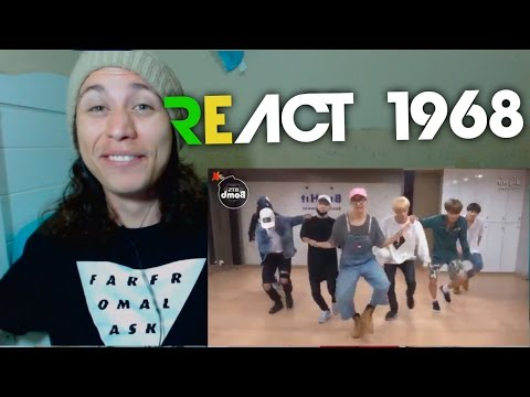 React 1968 BTS 'Silver Spoon (Baepsae)' mirrored Dance Practice [eng sub]