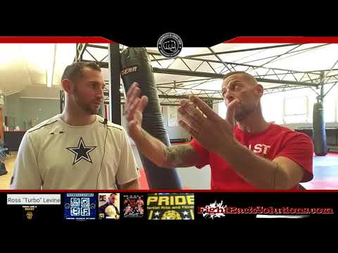 "Ross ""Turbo"" Levine - (Muay Thai - Lace Up Promotions) - Interview with- Domenico101mma.com"