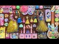 DISNEY PRINCESS Slime | Mixing Random Things into Glossy Slime | Satisfying Slime Videos