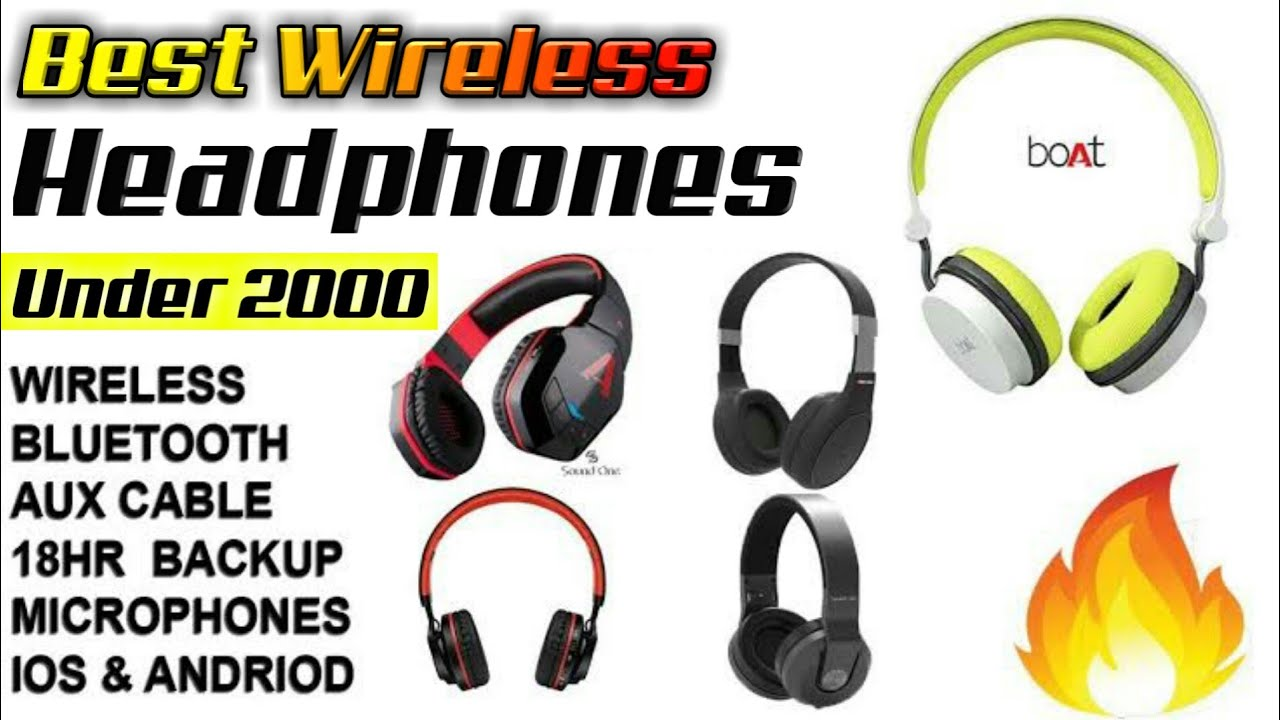 Best Wireless Earphone Under 2000 Best Bluetooth Earphone Under 2000 Top 5 Wireless Earphones Youtube