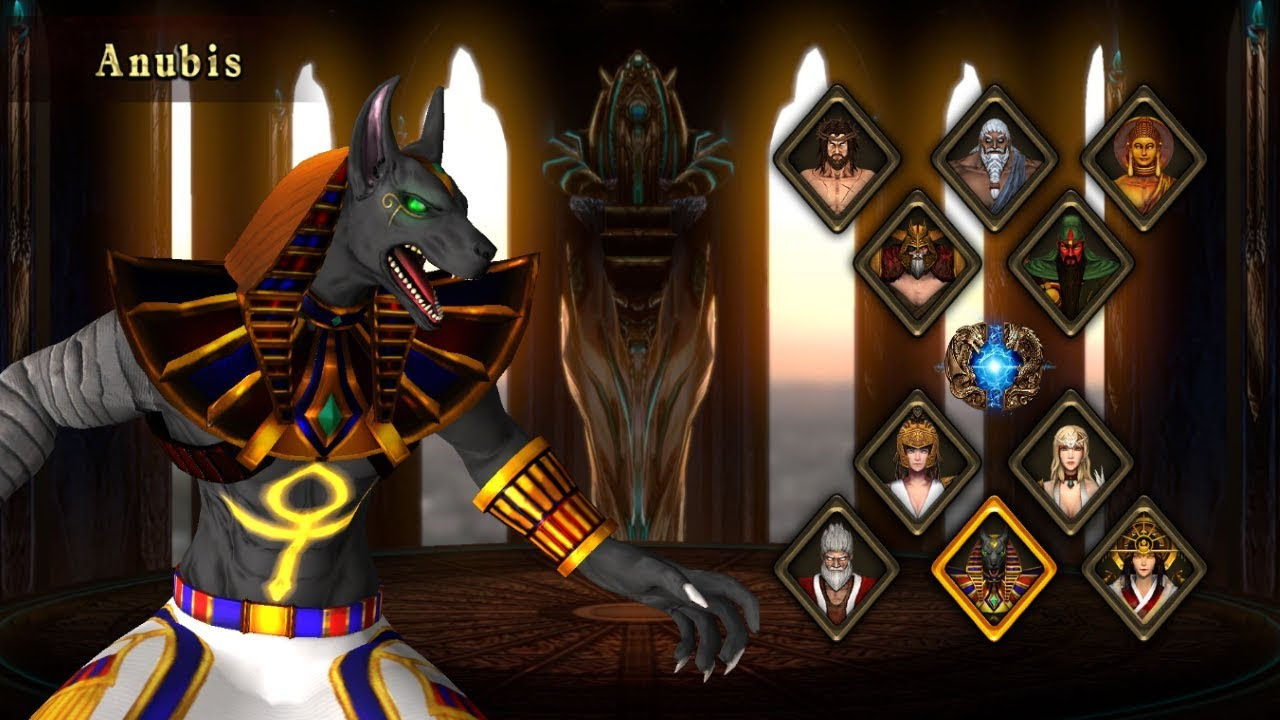 Fight Of Gods Featuring The Egyptian God Anubis Youtube