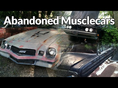 Maryland Muscle Car Junkyard Wrecked And Rusted 50 S 80 S Muscle