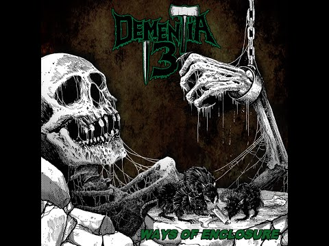 "Dementia 13 - ""Room 36"" LYRIC VIDEO (Ways of Enclosure CD 2015)"
