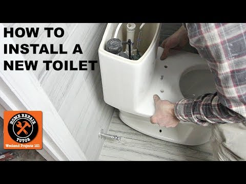 How to Install a Toilet...American Standard's One-Piece Cadet 3 (Step-by-Step)