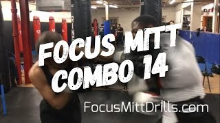 Boxing Combo 14 Basic Mitts Boxing Pad Work Drills Focus Mitt Combinations