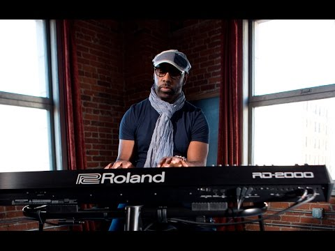 Myron McKinley's impression for the Roland RD-2000