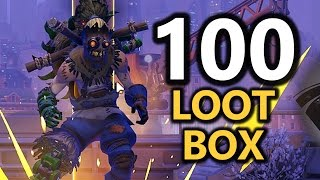 Overwatch - Luckiest Loot Box OPENING! (100) thumbnail