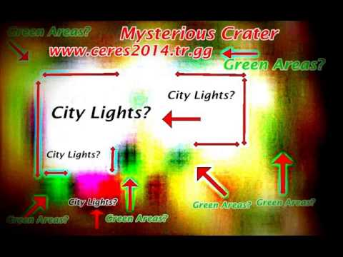 C E R S And Mysterious Crater Aliens City LightsYou Decide