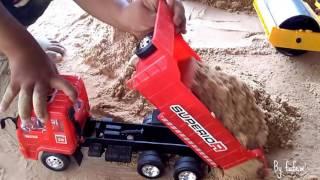 เล่นรถ รถแม็คโคร รถดั้มดิน รถบด รถของเล่น Cars Toy for Kids