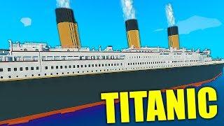 NAJWIĘKSZY STATEK W GRZE *TITANIC* vs TSUNAMI | Stormworks: Build and Rescue PL