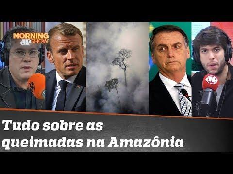 Macron, Bolsonaro, mitos e fatos sobre a Amazônia