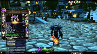 Vanilla WoW - Classic WoW - PVE LVL 60 - Warrior Raid Preparation