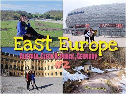 East Europe Trip!! Austria, Czech Republic, Germany #vlogeropatimur #eps2 #travelvlog