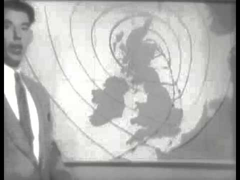 Earliest Known BBC Weather Forecast (Autumn 1953)