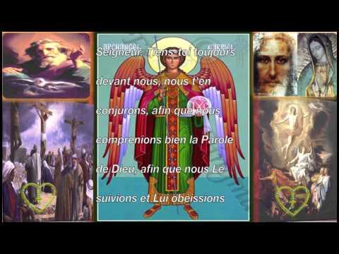 Prière à Saint Gabriel Archange
