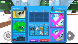 Let's play bubble gum simulator on roblox