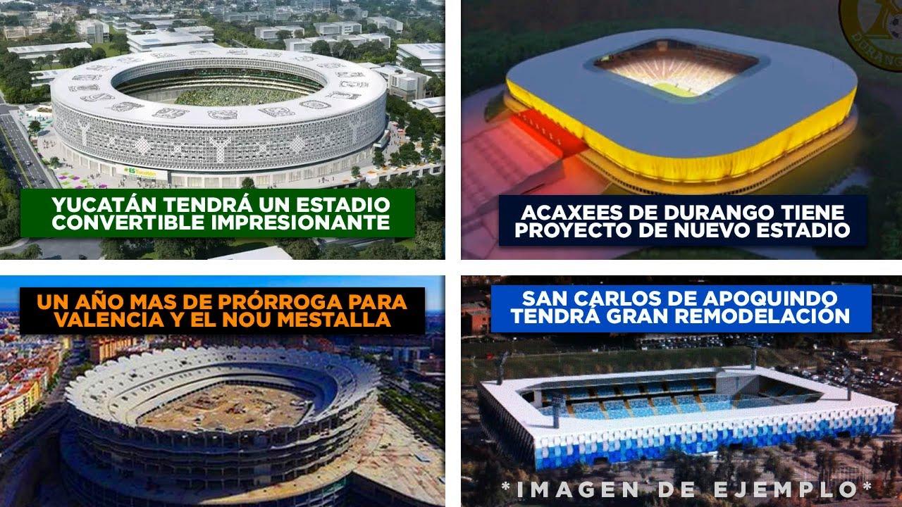 Yucatán tendrá estadio de primer mundo - San Carlos de Apoquindo sufrirá gran ampliación | Manynews