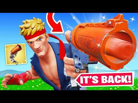 The *SECRET* FLARE GUN Update! (Fortnite)