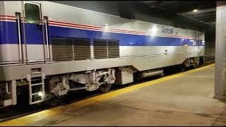 Railfanning Boston All Day: 100 Subscriber Special! With Amtrak and MBTA Trains & Subways