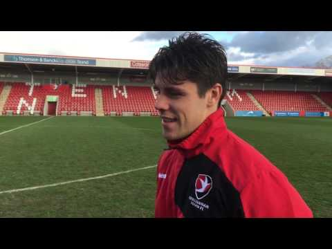 Goal-scoring hero Dan Holman reflects on winning the league