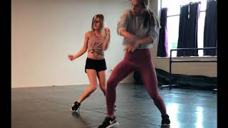 Nice for What dance combo at AIM dance studio