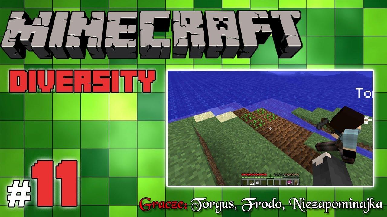 "Minecraft Escape: Diversity z Frodo/Torgus! [11/14] – ""Czysty survival"""