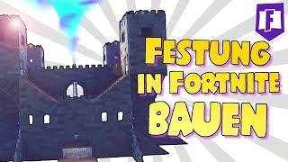 EPISCHE Burg in Fortnite bauen 👍 • Deutsch • Sharx