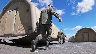 Развертывание полевого госпиталя в Красноярском крае