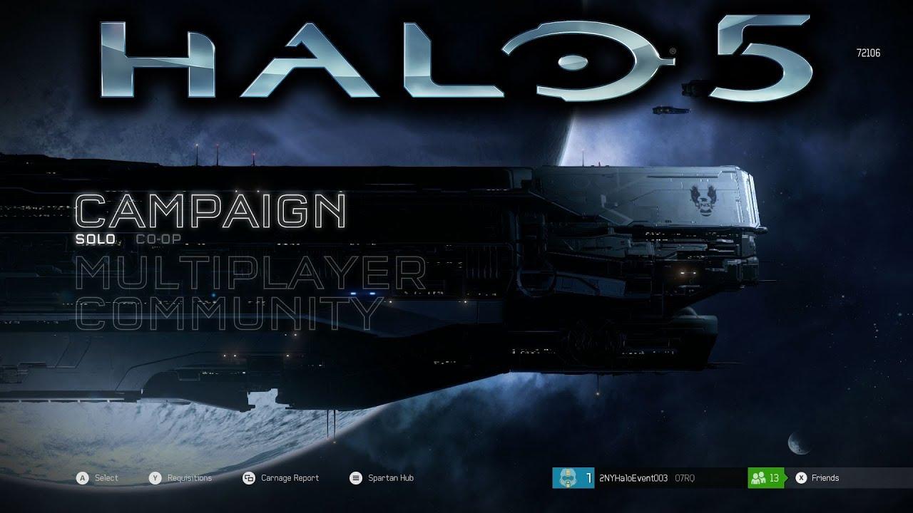 Halo 5: Guardians Main Menu Music