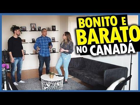 APARTAMENTO GRANDE e MUITO BARATO em TORONTO no CANADÁ - IMÓVEIS NO CANADÁ