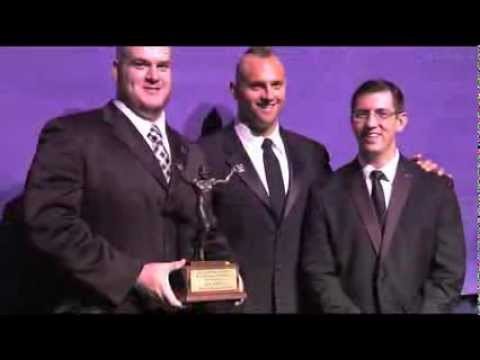 2013 Uplifting Athletes Rare Disease Champion at Maxwell Awards Gala