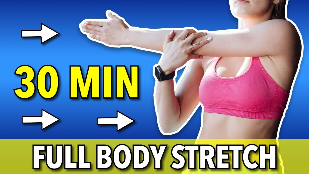 30 Min FULL BODY STRETCH   Daily Routine For Flexibility & Mobility