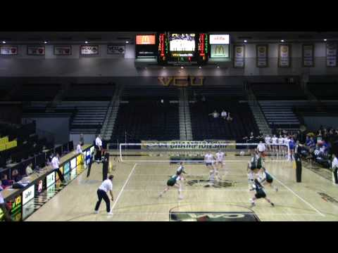 GMU vs. DELAWARE WOMANS VOLLEYBALL CAA 5th AND FINAL GAME BEFORE CHAMPIONSHIP GAME