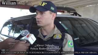 Comando 190 - PRF Klever fala sobre apreensão de veiculo clonado na Br.262 em Araxá.
