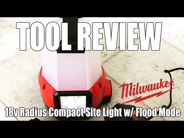 TOOL REVIEW - Milwaukee Radius Compact Site Light