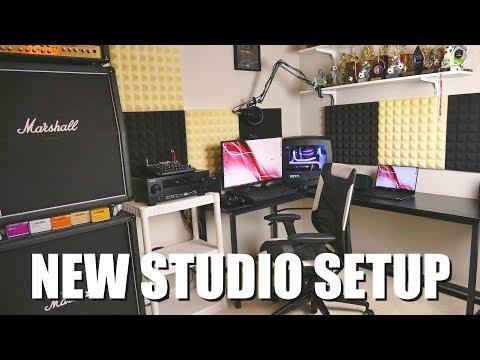 New Computer Desk   Studio Setup + Tour