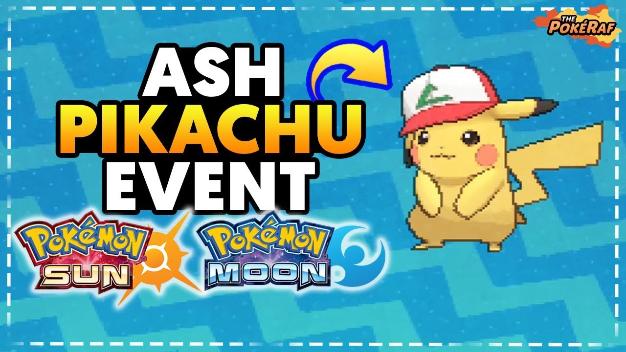 61c055540bb44 How To Get Ash Hat Pikachu in Pokémon Sun and Moon! (UK Event) - YouTube