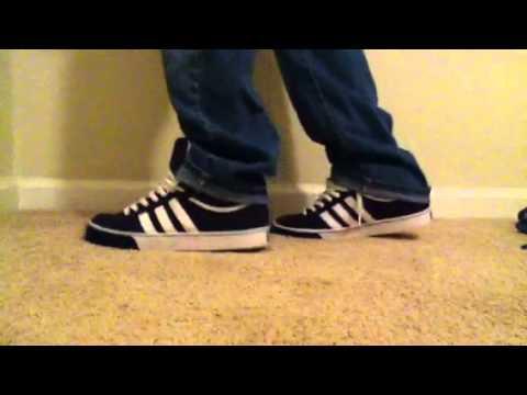 62c79bb6fd Adidas Americana Vulc Mid on feet - YouTube