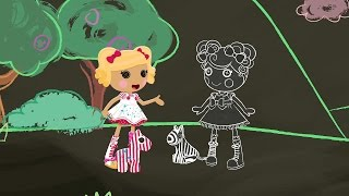 "New Lalaloopsy Episode Preview:  ""Spot Draws the Line"" (Airdate: 8/16/2014)"