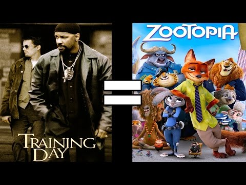24 Reasons Training Day & Zootopia Are The Same Movie