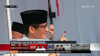 Sandiaga Uno Kalah Suara di TPS Sendiri NET24