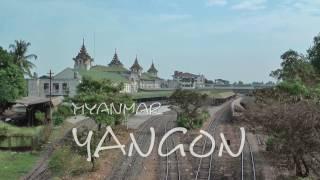 Circle Line - Yangon - ရန်ကုန် မြို့ပတ် ရထား