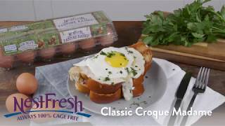 Classic Croque Madame Recipe from NestFresh Eggs