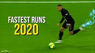 Fastest Sprint Speeds In Football 2020
