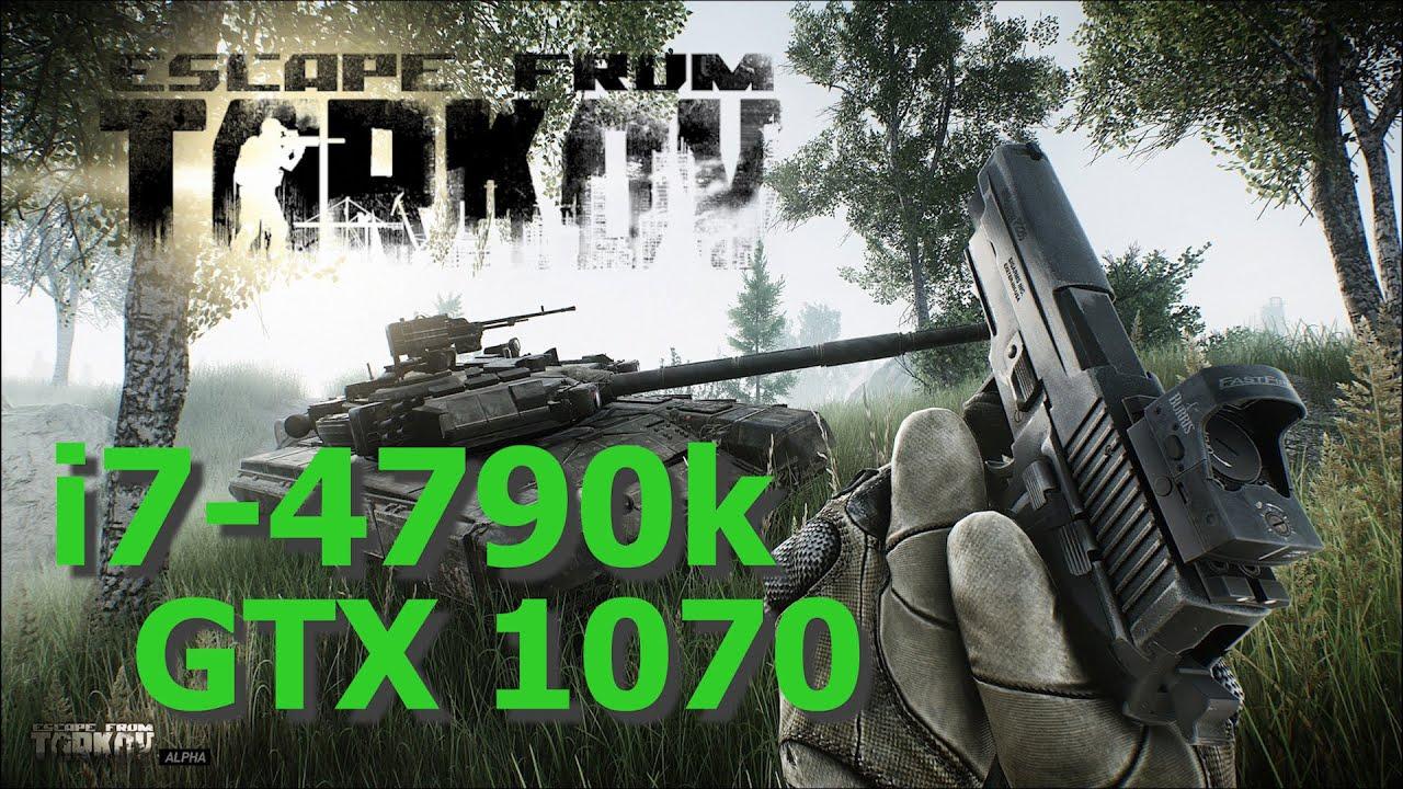 Escape from Tarkov Single Player 0.12.9.10532 Benchmark i7