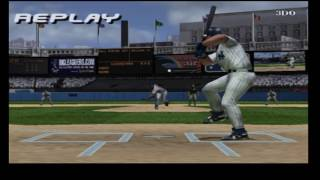 High Heat Major League Baseball 2003 PS2 Gameplay